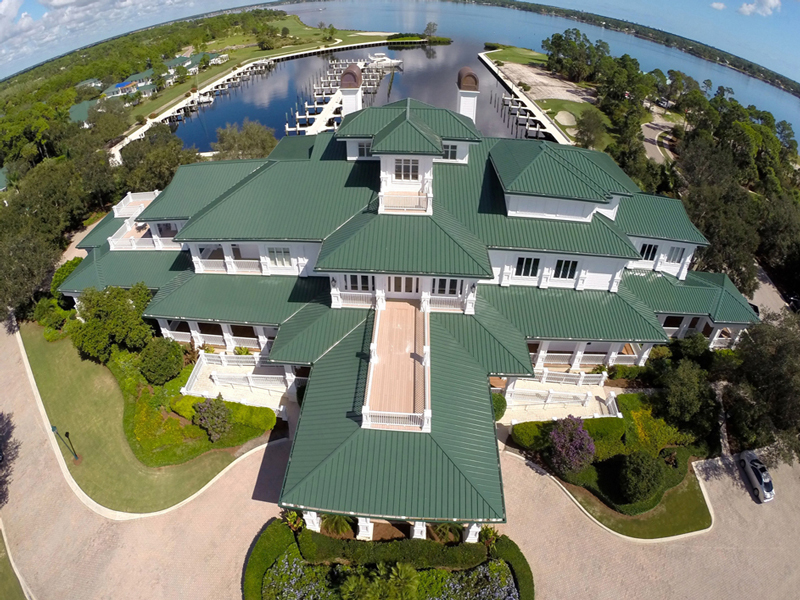 green metal roof portfolio image
